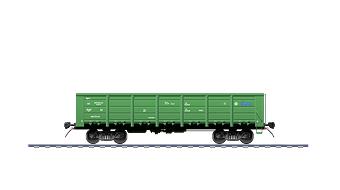УНИВЕРСАЛЬНЫЙ ПОЛУВАГОН Модель 12-9763